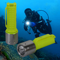 Flashlight 1800LM Diving CREE XM-L T6  aa LED Waterproof Torch Underwater Lamp