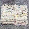 2016 новый детское одеяло новорожденный пеленание мягкой дышащей 100% хлопок муслин пеленание одеяло просто черно-белом стиле