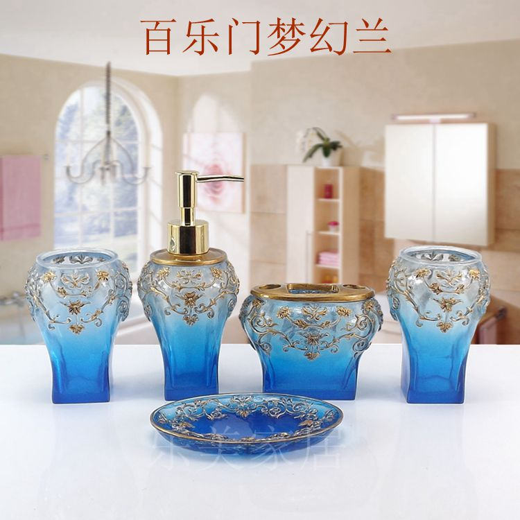 2016 toothbrush holder bathroom set banheiro lemei for Fashion bathroom set