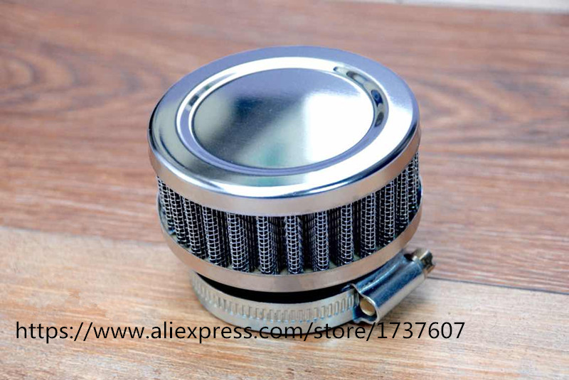 US $5 72 60% OFF|1pcs Stainless Ring Motorcycle Air Filter 46MM 48MM 50MM  52MM 54MM 60MM Cleaner For SR400 CB550 CB750 Kawasaki KZ650-in Air Filters  &