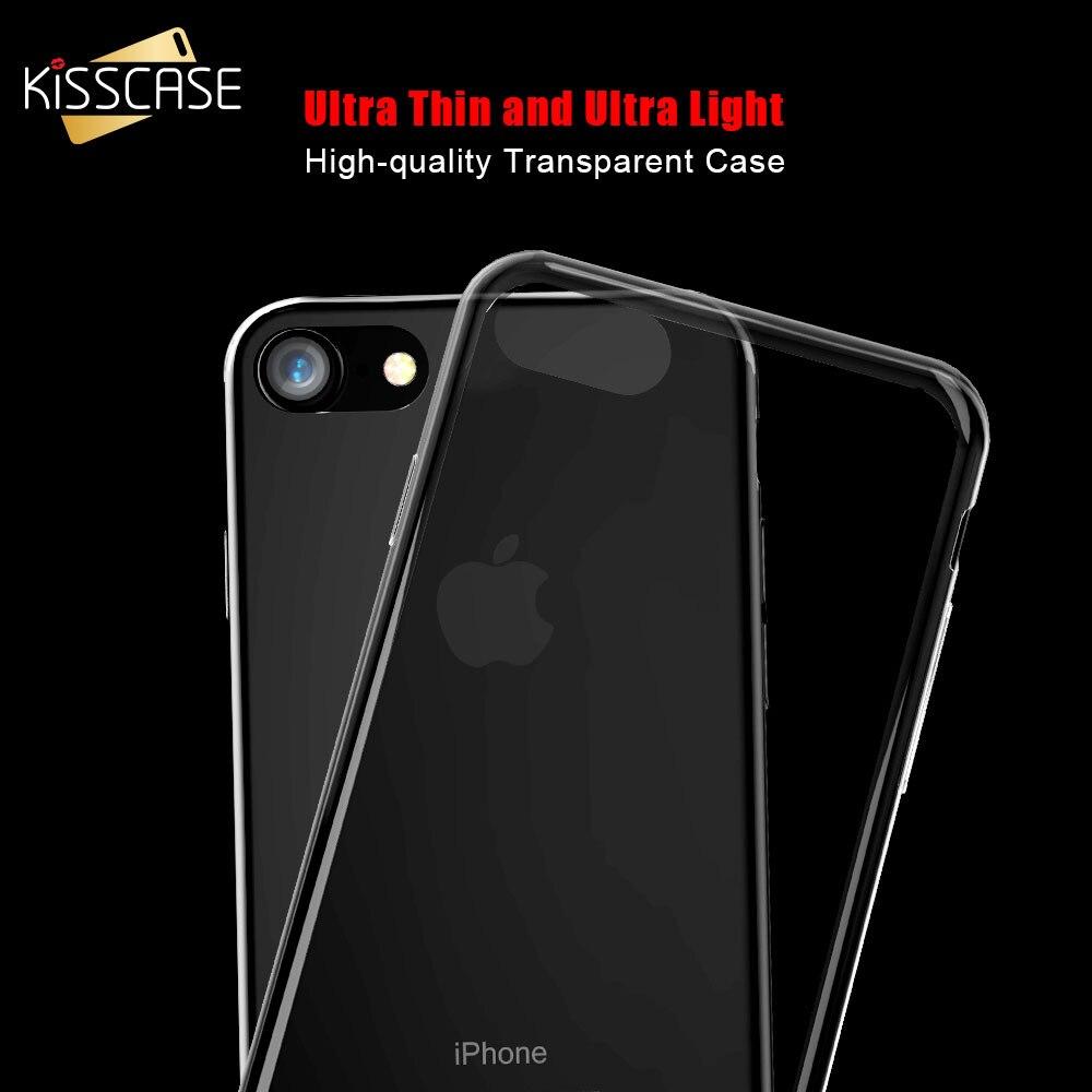 KISSCASE Ultra Thin Transparent...