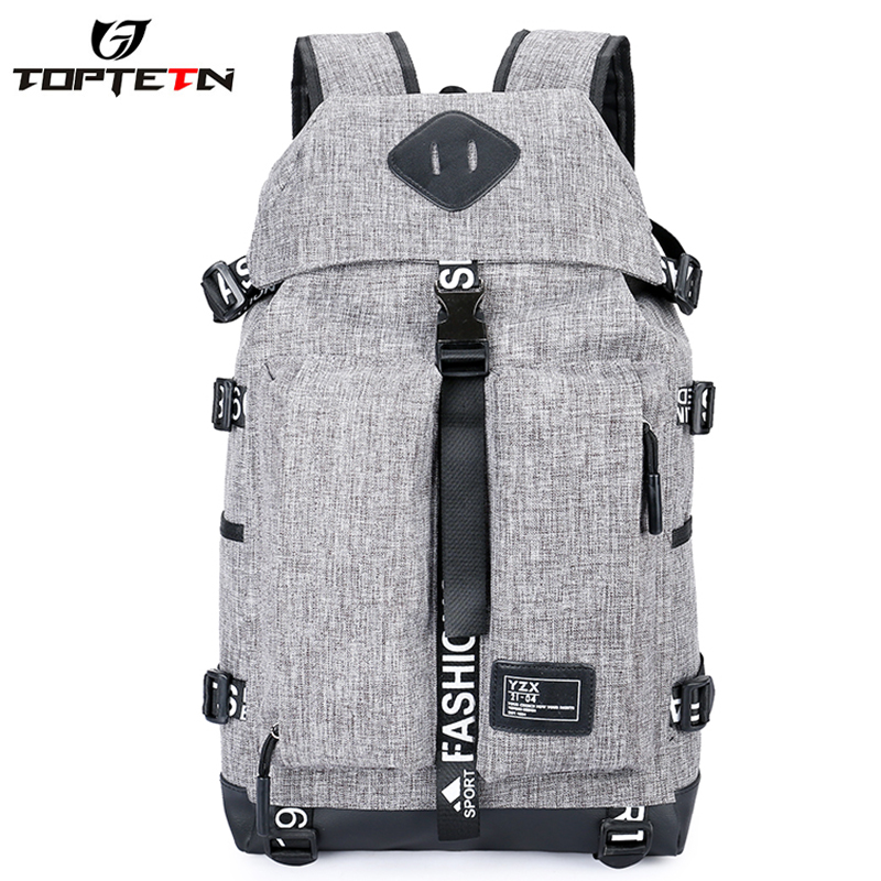 TOPTETN New Bicycle bag outdoor breathable riding travel with waterproof and function