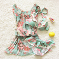 two piece child bikini with dress mom daughter matching outfits mother-daughter Summer dresses toddlers bathing suits swimwear
