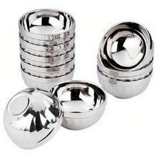 Eco-Friendly Bowl Stainless-Steel Edge-Resistant Anti-Rust Tablewarep0.21 Kids New Safe