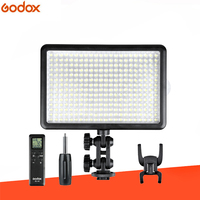 Godox LED308C 3300K~5600K LED 308 Video Light Lamp with Wireless Remote and Handle Grip for DV Camcorder Camera