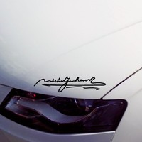 Michael Jackson S Signature Car Styling Waterproof Reflective Car Sticker And Vinyl Decals
