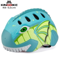 Kingbike 어린이 자전거 헬멧 초경량 어린이 안전 자전거 헬멧 미등 어린이 사이클링 헬멧 어린이 자전거 장비