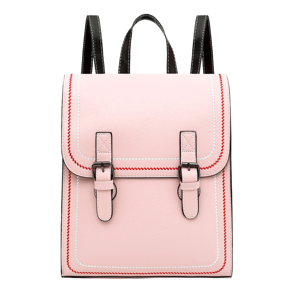 Fashion Women Large Capacity Fashion Simple School Backpack Girl Women Ladies Girls Retro Totes Shoulder Backpacks dropshipping(China)