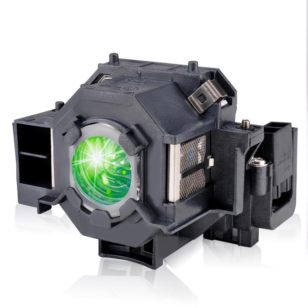HAPPYBATE ELPLP42 Projector Lamp With Housing For EMP-83H EMP-410WE EMP-280 EMP-270 EMP-822H EMP-400WE H281A V13H010L42