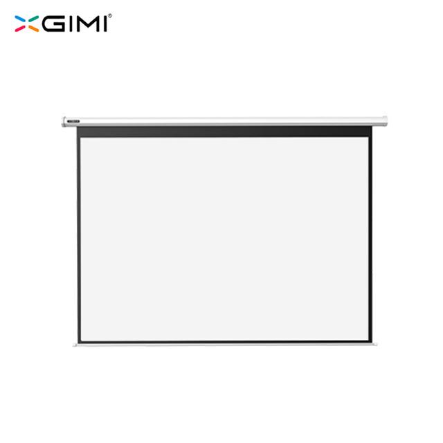 XGIMI 100 pulgadas 16:10 eléctrica blanca cortina de plástico (versión mejorada)