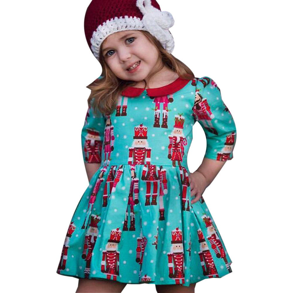 MUQGEW Toddler Kids Baby Girls Cartoon Princess Party Dress ...