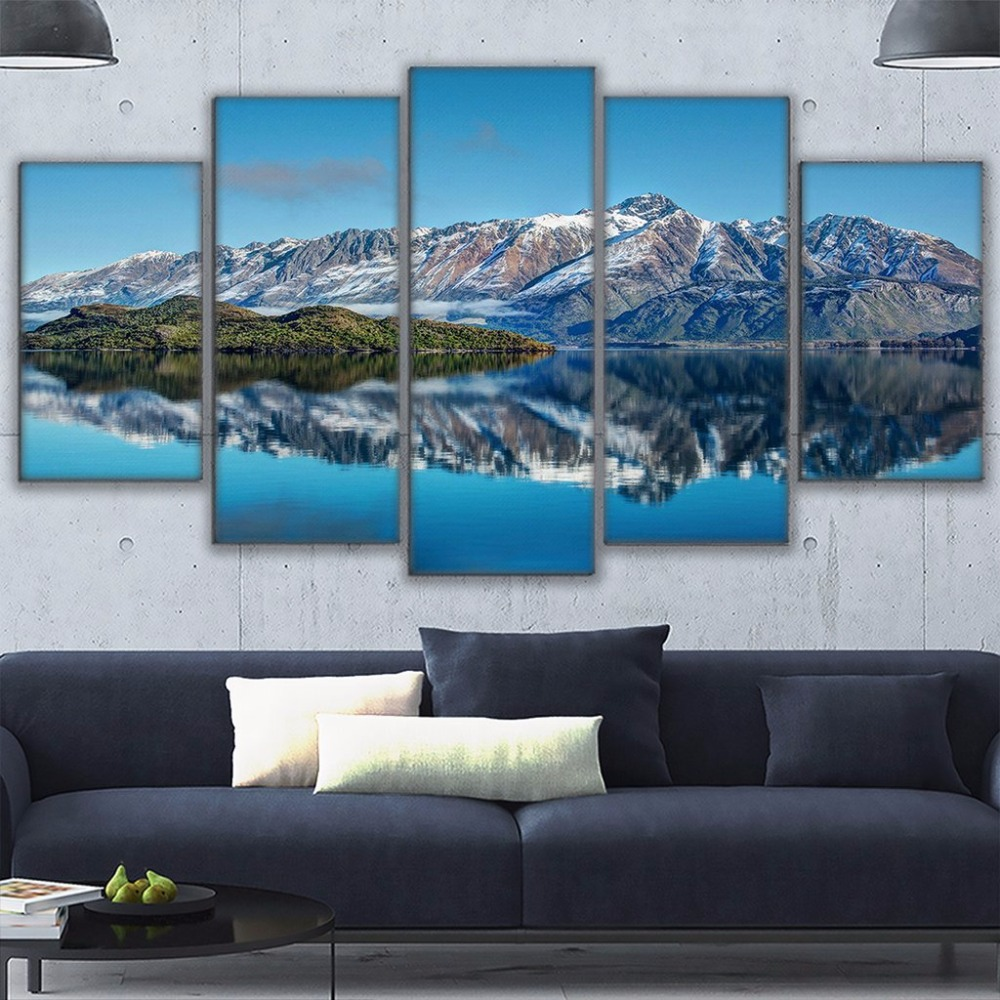 Canvas Prints Poster Wall Art Frame Home Decor 5 Piece