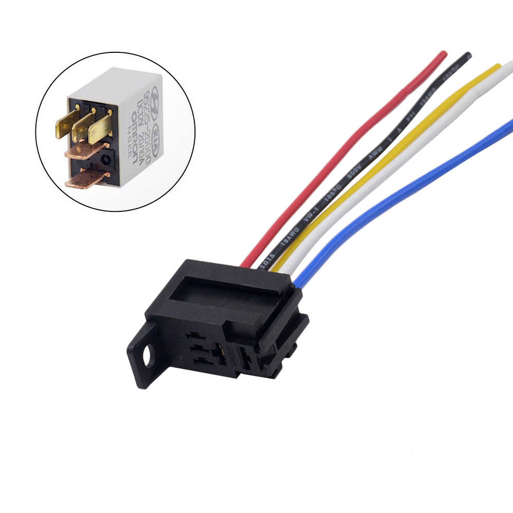 1PC THREE TYPES 12V Car OMRON Power Relay Socket for KIA( with terminal, on idec relay wiring, car relay wiring, orion relay wiring, auto relay wiring,