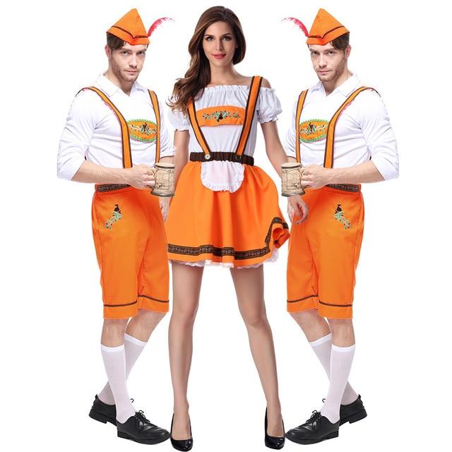 Halloween Costumes Oktoberfest Beer Maid Waiter Costume Beer Girl ...