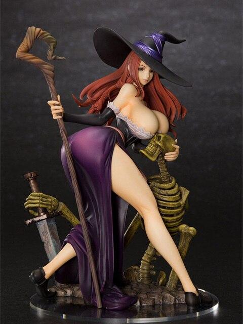 ญี่ปุ่น Orchid Seed มังกร Crown เซ็กซี่ PVC Action Figure 22cm สาวเซ็กซี่ตัวเลขอะนิเมะรุ่นของเล่นของขวัญ