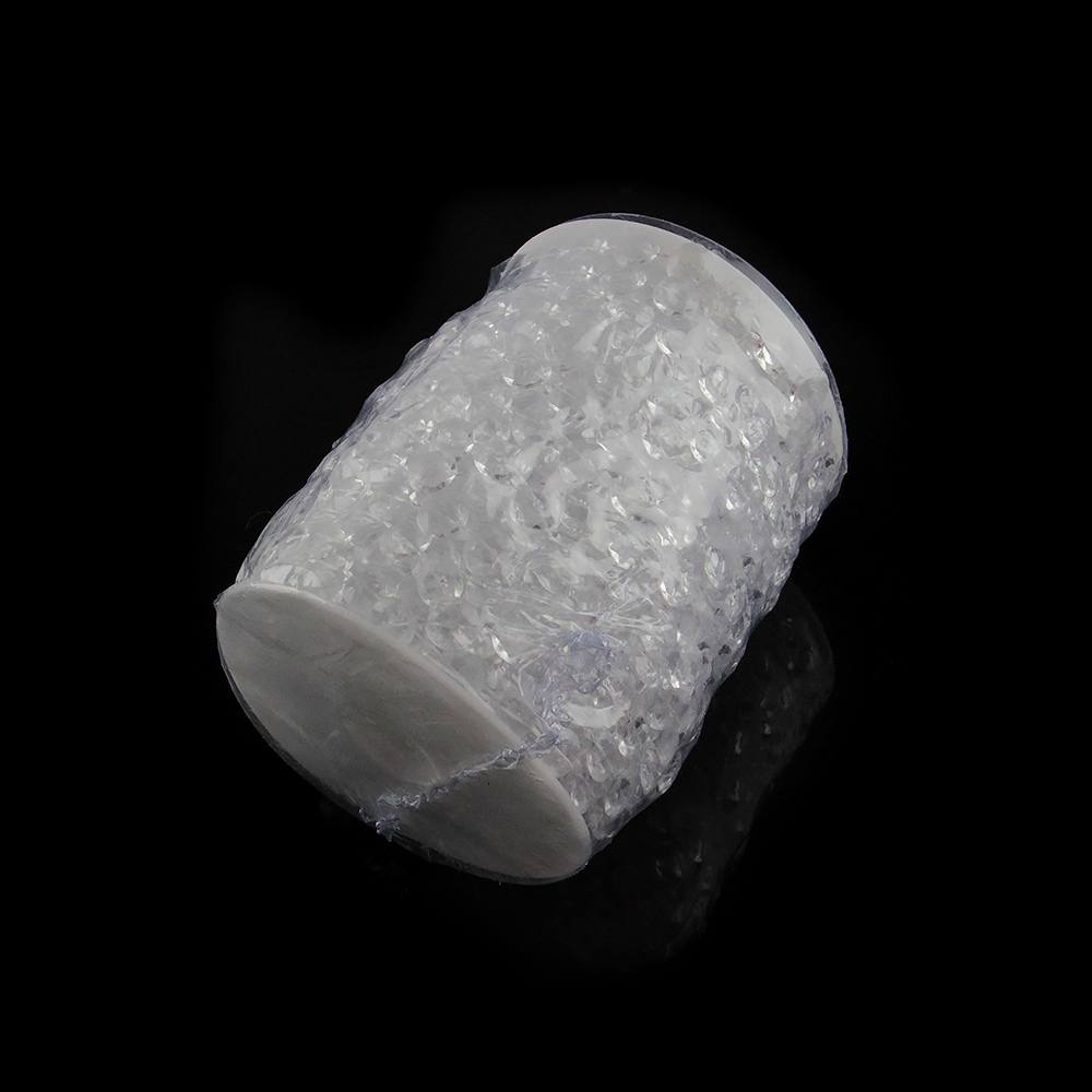 30 Metros / Rollo, 99FT Acrílico Cristal Garland Filamento Diamante - Para fiestas y celebraciones - foto 4