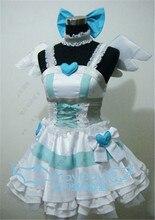 Panty y media con garterbel stocking cosplay dress + banda para el cuello + ala + headwear + stocks
