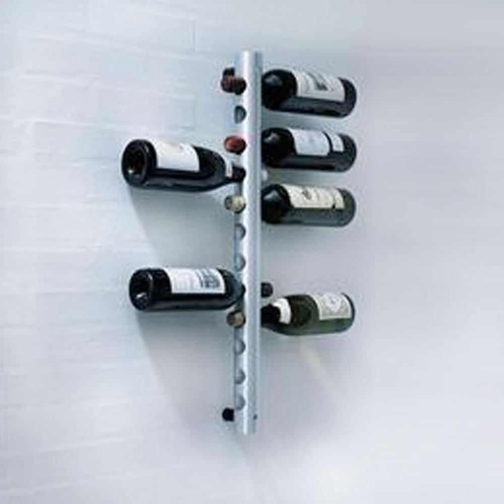 Brand New Stainless Steel Wine Rack Practical Bottle Holder Bar Wall ...