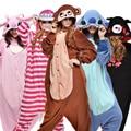 Panda onesies Pajamas Adults Flannel Anime Pajama Cartoon Unisex Cosplay Animal Pajamas for women one piece Onesie Pijama femme