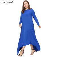 2017 Fashion Women Spring Summer Style Plus Big Large Size Dresses O Neck Brief Loose Casual