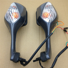 Aftermarket free shipping motorcycle parts OEM Turn Signal Mirror fit   CBR1000RR CBR 1000 RR 2008-2012 Carbon Fiber CLEAR