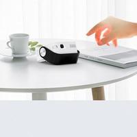 L-mix portátil mini handheld projetor de telefone móvel casa wifi sem fio hd 1080 p inteligente micro-projeção