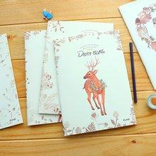 Белая кожа Крафт-бумаги B5 записная книжка студент книга Портативный блокнот цветных страниц иллюстрация дневник