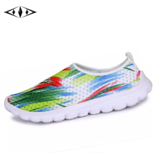 2015 New Trend Graffiti Women Sneakers Summer Breathable Air Mesh Running Shoes Female Sport Lady Shoes FB1080-2