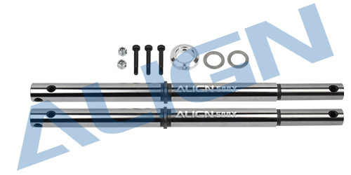 Align T-REX 500X Main Shaft H50H007XXW trex 500 Spare parts Free Track Shipping align t rex 450dfc main rotor head upgrade set h45162 trex 450 spare parts free track shipping