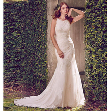 Verngo Mermaid Wedding Dress Boho Ivory Lace Appliques Gowns Sexy Open-Back Bride  Elegant Vestido De Novia