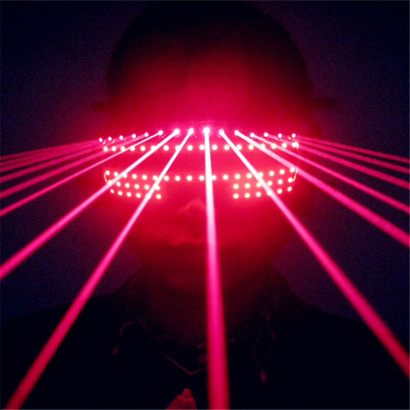 T824 Ballroom dance bar led costumes laser light glasses red beams robot man projector dj stage wears  party performance discoT824 Ballroom dance bar led costumes laser light glasses red beams robot man projector dj stage wears  party performance disco