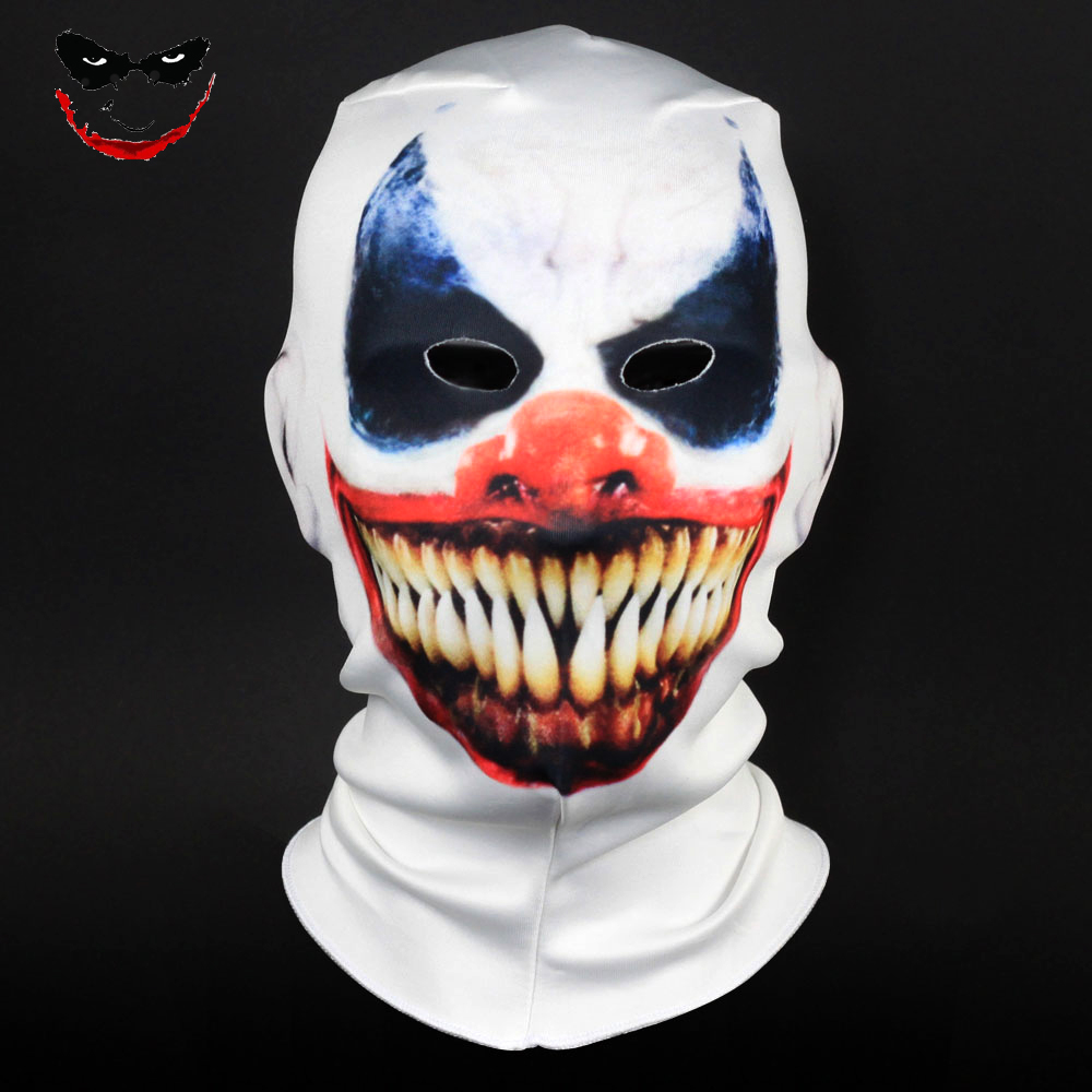 Joker Mask Cosplay Halloween Joker Costumes Accessories Halloween Party Props Dropshipping