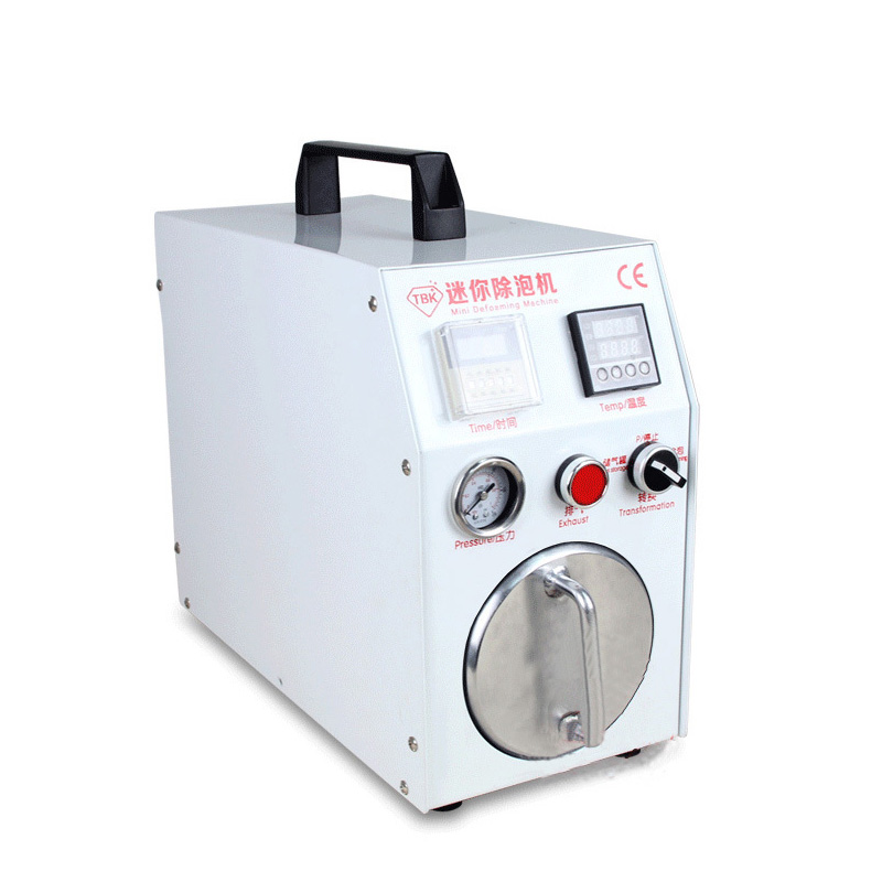 Built-in Vacuum Pump Mini Autoclave Bubble Remover OCA Adhesive Sticker LCD Air Bubble Remove Machine for Glass Refurbishment 7inch ko no 1 mt 07 universal 12inch ft 12 oca film lamination machine need air compressor and vacuum pump bubble remover