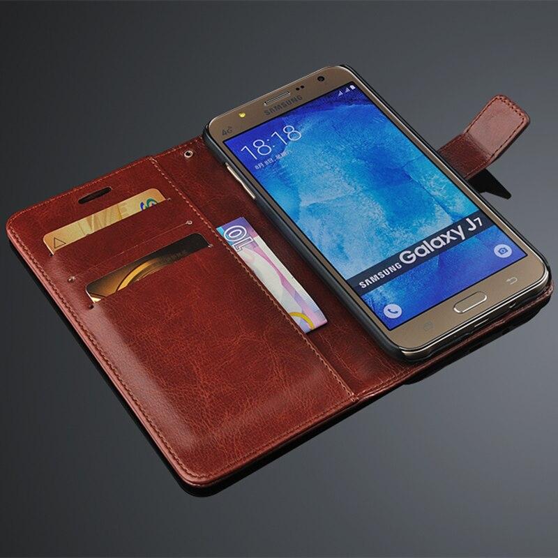 Untuk fundas Samsung J7 pemegang kartu kasus penutup untuk Samsung - Aksesori dan suku cadang ponsel - Foto 4