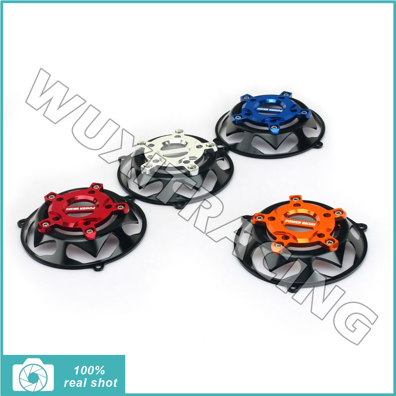 ФОТО Hot Sale Motorcycle Cooling Fan Cap Cover Protector for YAMAHA BWS125 BWS-125 BWS 125 All Years Aluminium Alloy CNC Machined