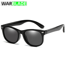 WBL 2019 Mirror Kids Sunglasses TR90 Boys Girls Polarized Si