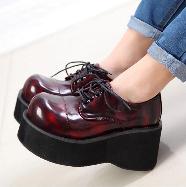 chaussure plateforme demonia. Black Bedroom Furniture Sets. Home Design Ideas