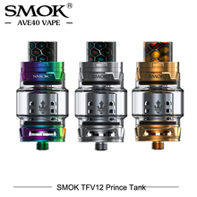 Original SMOK Atomizer TFV12 Prince Tank 8ml Enorme capacidad de llenado de cigarrillos electrónicos sub ohm Vaporizador Vape