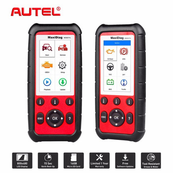 Autel Maxidiag MD808 PRO OBD2 OBD Full system car diagnsotic tool support BMS/Oil Reset/SRS/EPB/DPF Best Handheld Auto Scanner image
