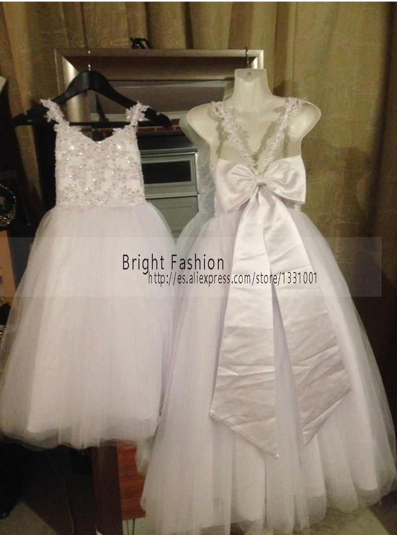 Aliexpress buy real white bridesmaid dresses for children aliexpress buy real white bridesmaid dresses for children 2015 new first communion dresses for girls vestido daminha casamento rustic from reliable ombrellifo Image collections
