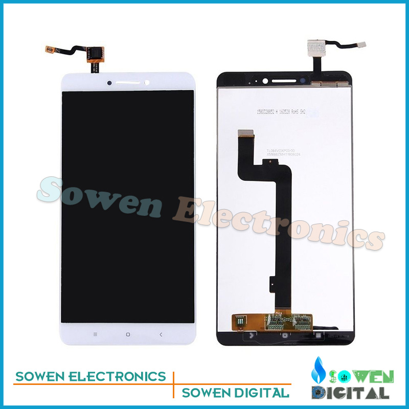 6.44 inch for Huawei Xiaomi Mi Max LCD display Screen with Touch Screen digitizer assembly full sets,Black or white,Best quality