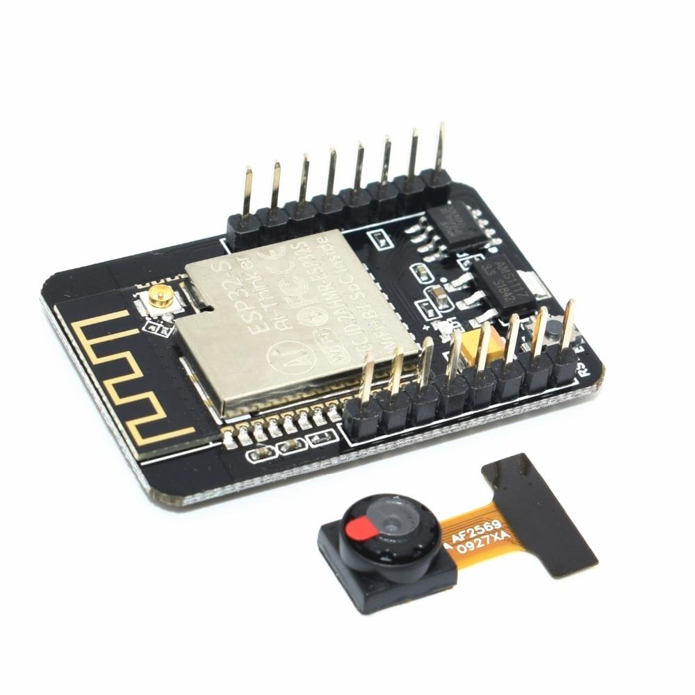 ESP32-CAM WiFi WiFi Module ESP32 serial to WiFi ESP32 CAM Development Board 5V Bluetooth with OV2640 Camera ModuleESP32-CAM WiFi WiFi Module ESP32 serial to WiFi ESP32 CAM Development Board 5V Bluetooth with OV2640 Camera Module