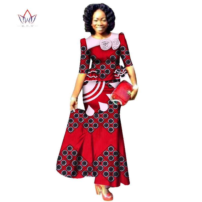 African American Girls Fashion: New Style 2018 Fashion African Skrit Sets For Women