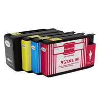 Compatible For HP 952 952XL Set Of 4 Pack Ink Cartridges For OfficeJet 7740 8702 8715