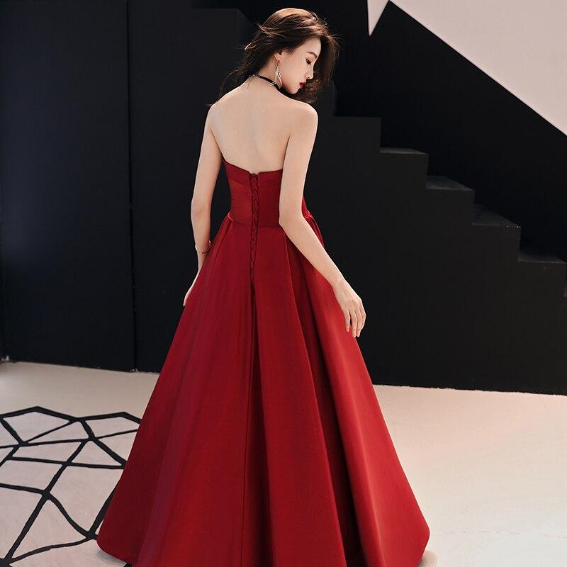 Купить сексуальное атласное вечернее платье без рукавов с открытой