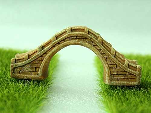 زكا الراتنج حجر كبير جسر البني مصغرة حديقة خرافية زخرفة وعاء النبات ديكور