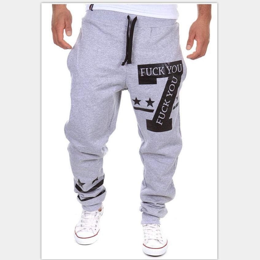 0f16101e3b Men's Full Length Leisure trousers Young street clothes Personalized ...