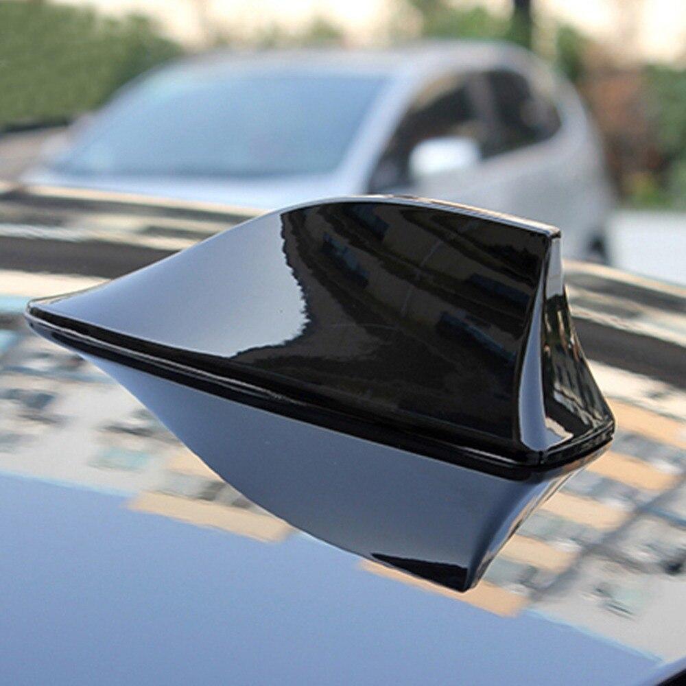 Globale Car  Motor Store 2017 Black Car Radio Shark Fin Car Shark Antenna Signal Newest Design for For BMW/Honda/Toyota/Hyundai/VW/Kia/Nissan Car Styling