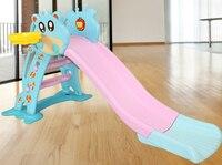 Lk85 брода детская Детская безопасность ползунок Экологичные pe Пластик детские игрушки Баскетбол кольца стабильной заполнены База ползунок
