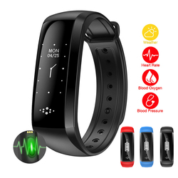 Fitness monitor de freqüência cardíaca masculino esportes relógios polares pressão arterial oxímetro oxigênio ao ar livre correndo relógios